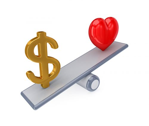 money-vs-love
